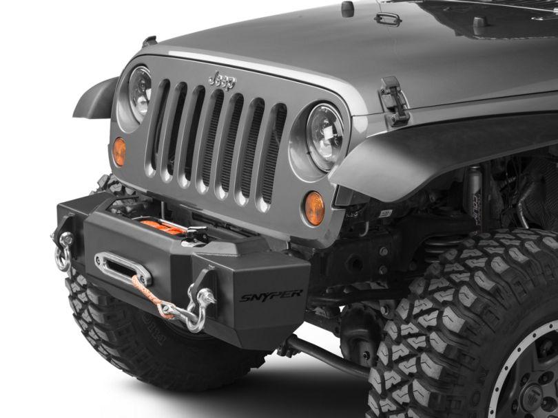 Scope Stubby Front Bumper (07-18 Jeep Wrangler JK)