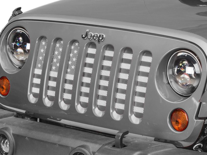 Grille Insert; American Tactical (07-18 Jeep Wrangler JK)
