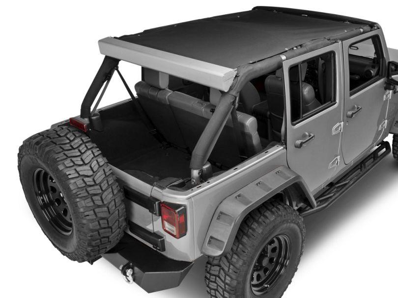 M.O.R.E. JK Roller Sun Shade (07-18 Jeep Wrangler JK)