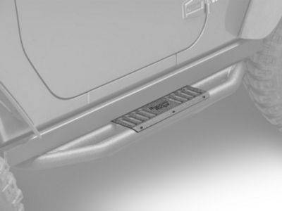 Rugged Ridge RRC Side Armor Guard Plates for Rugged Ridge Nerf Bars (07-18 Jeep Wrangler JK 2 Door)