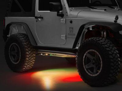 Oracle Bluetooth ColorSHIFT Underbody Rock Light Kit (87-18 Jeep Wrangler YJ, TJ, JK & JL)