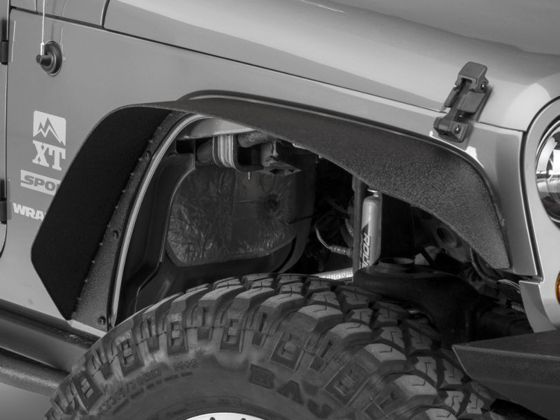 Barricade HD Flat Fender Flares (07-18 Jeep Wrangler JK)