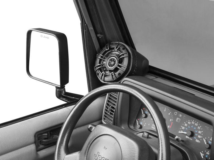 Select Increments Versa Speaker Pods (87-20 Jeep Wrangler YJ, TJ, JK & JL)