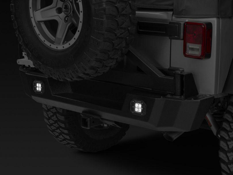 Raxiom 3-Inch Flush Mount 4-LED Off Road Light; Spot Beam