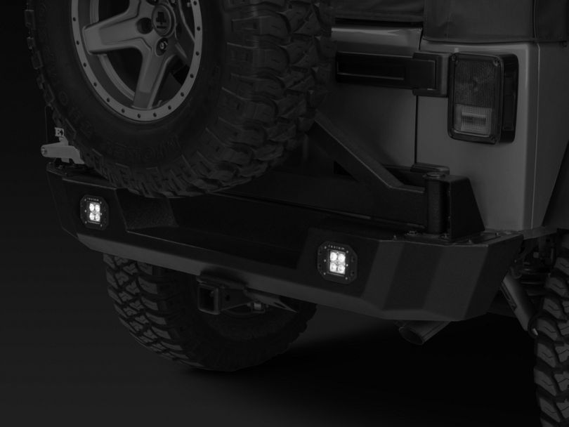 Raxiom 3-Inch Flush Mount 6-LED Off Road Light; Flood Beam