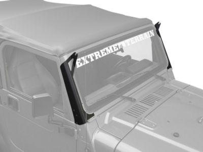 Raxiom 50 in. LED Light Bar Windshield Mount (97-06 Jeep Wrangler TJ)