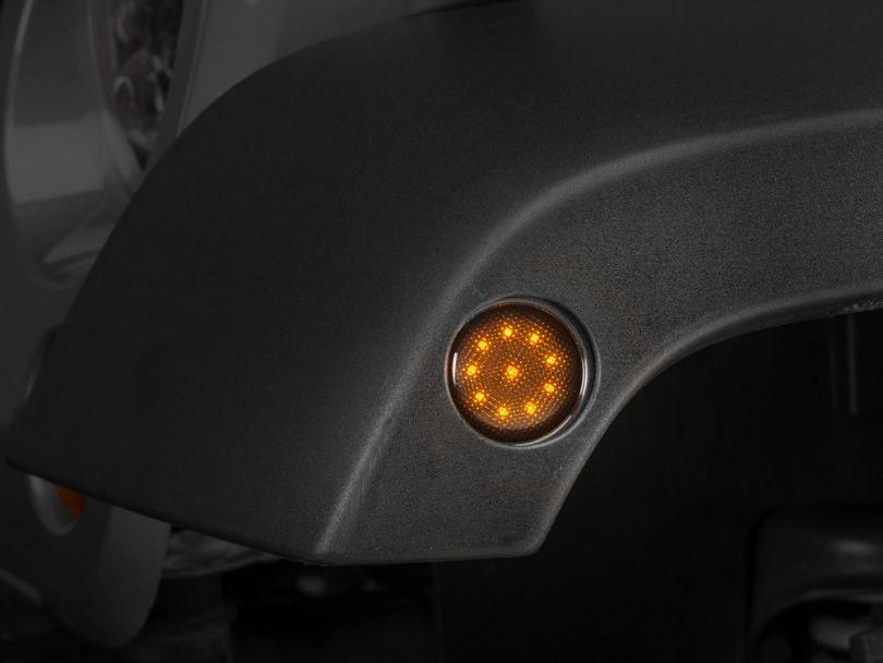Raxiom Smoked LED Side Marker (07-18 Jeep Wrangler JK)