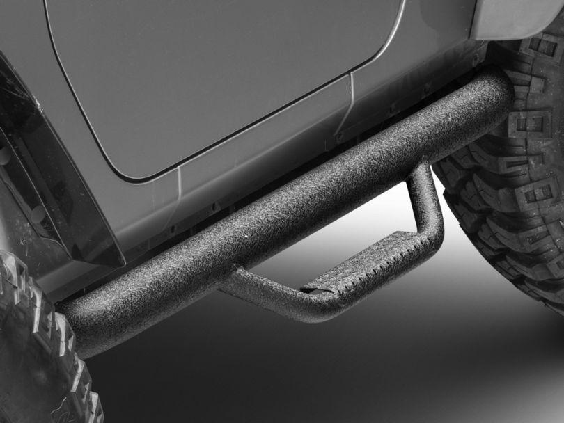 N-Fab Nerf Steps; Textured Black (07-18 Jeep Wrangler JK 2 Door)