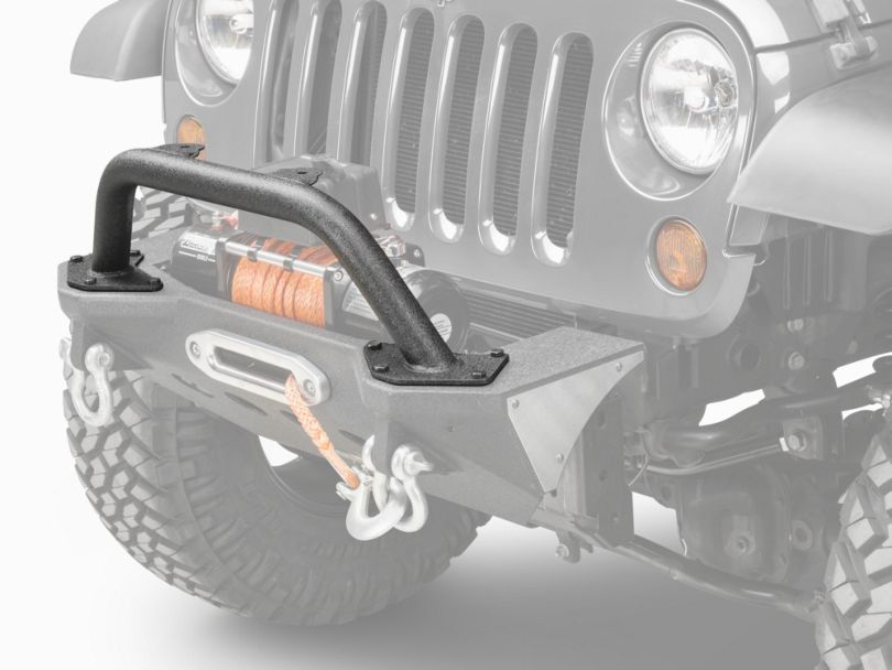 Smittybilt XRC M.O.D. Bull Bar; Textured Matte Black (07-18 Jeep Wrangler JK)