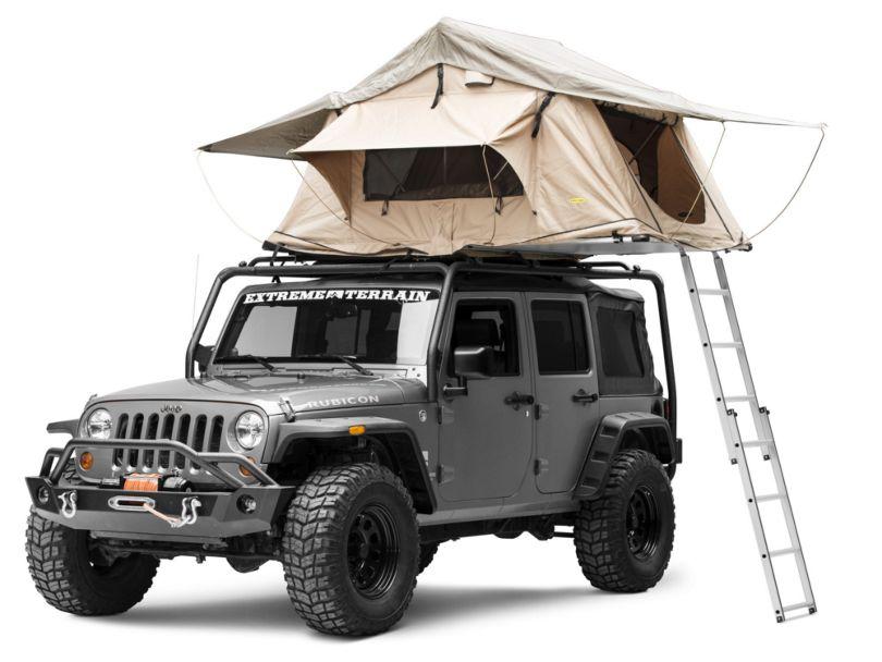 Smittybilt Overlander Roof Top Tent - Coyote Tan (Universal Fitment)