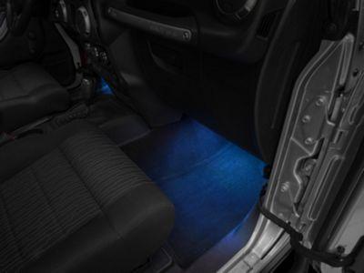 Rugged Ridge Interior LED Courtesy Lighting Kit (07-18 Jeep Wrangler JK; 2018 Jeep Wrangler JL)