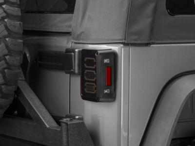DV8 Off-Road LED Octagon Tail Lights (07-18 Jeep Wrangler JK)