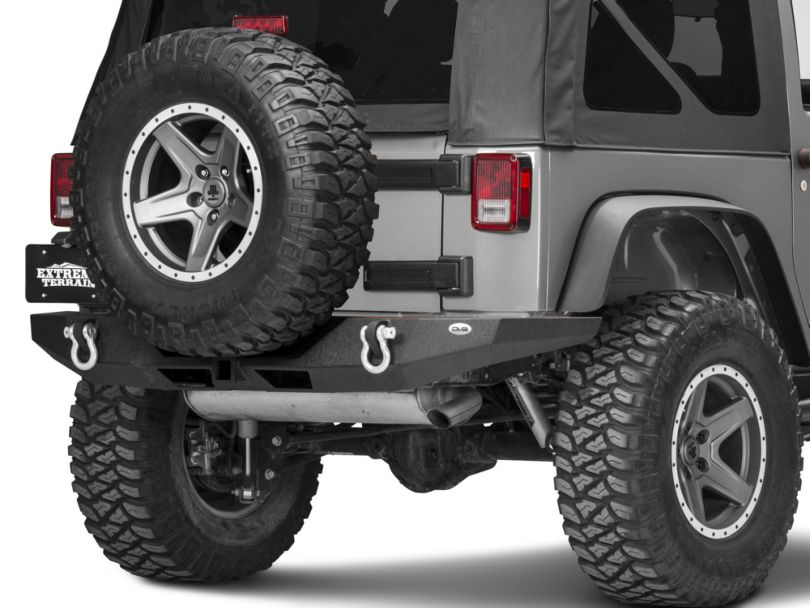 DV8 Off-Road RS-9 Full Length Rear Bumper (07-18 Jeep Wrangler JK)