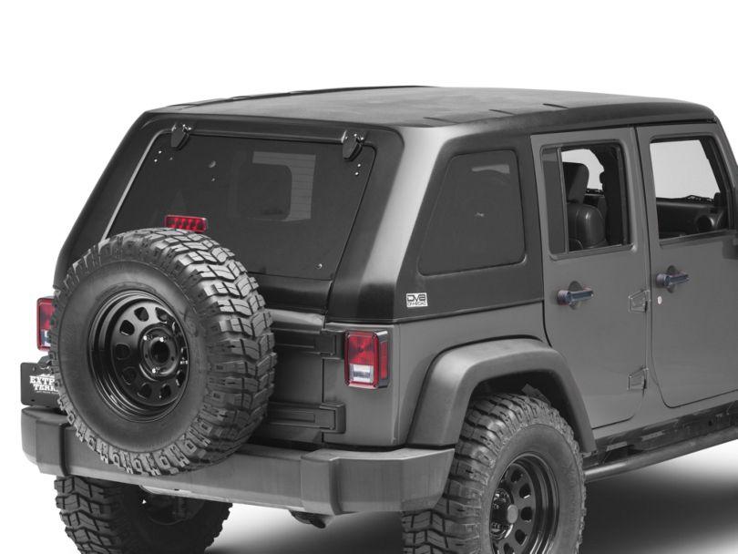 DV8 Offroad Fastback Hard Top (07-18 Jeep Wrangler JK 4 Door)