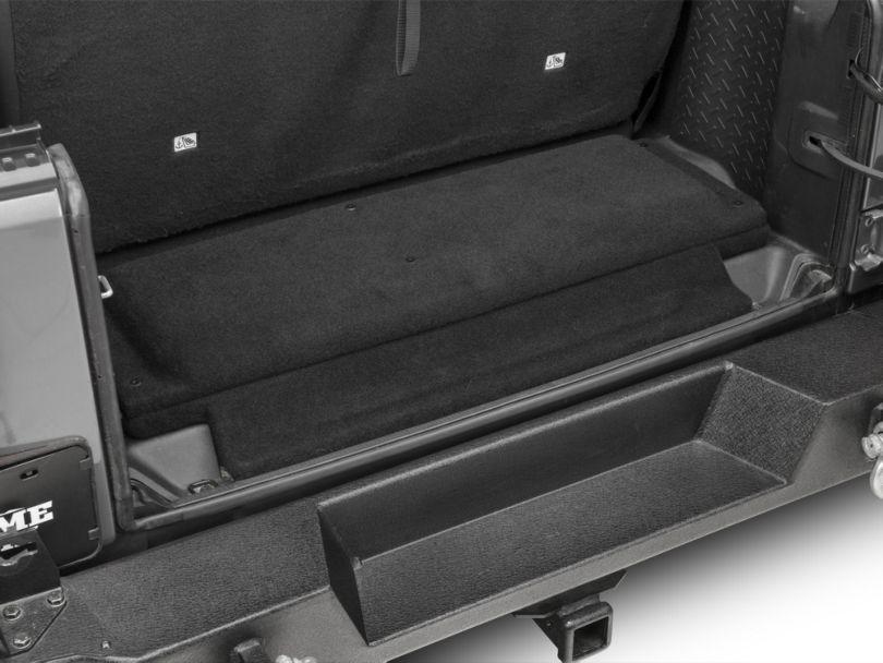 JL Audio Stealthbox Subwoofer with Cargo Area Enclosure (07-18 Jeep Wrangler JK 2 Door)