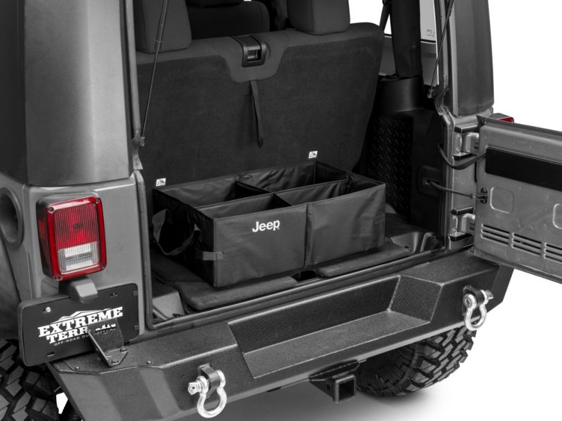 Mopar Collapsible Cargo Tote with Jeep Logo