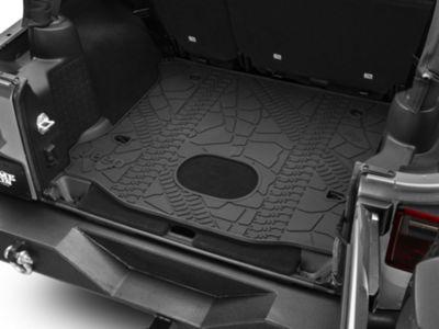 Mopar Cargo Liner w/ Subwoofer Cutout (15-18 Jeep Wrangler JK 4 Door)