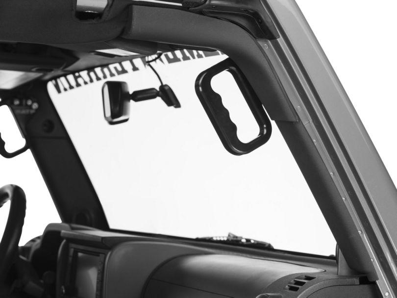American Trail Products Front Billet Grab Handles (07-18 Jeep Wrangler JK)