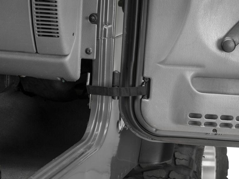 Rugged Ridge Adjustable Door Straps (87-06 Jeep Wrangler YJ & TJ)