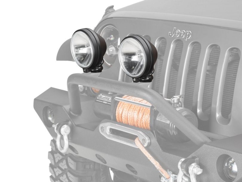 Delta 505 Series H.I.D. Light Kit - 35 Watt H.I.D. - Pair (87-20 Jeep Wrangler YJ, TJ, JK & JL)