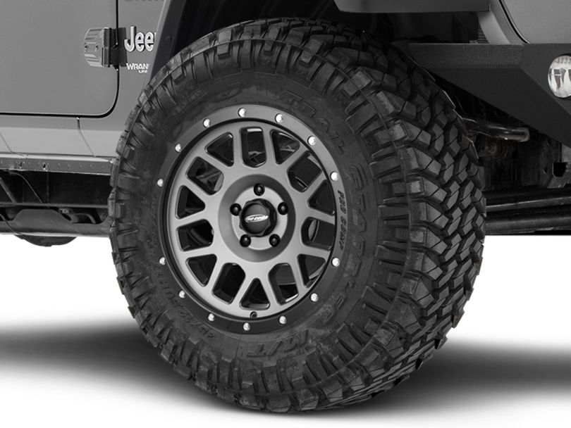 Pro Comp Wheels Vertigo Matte Graphite Wheel - 18x9 (18-20 Jeep Wrangler JL)