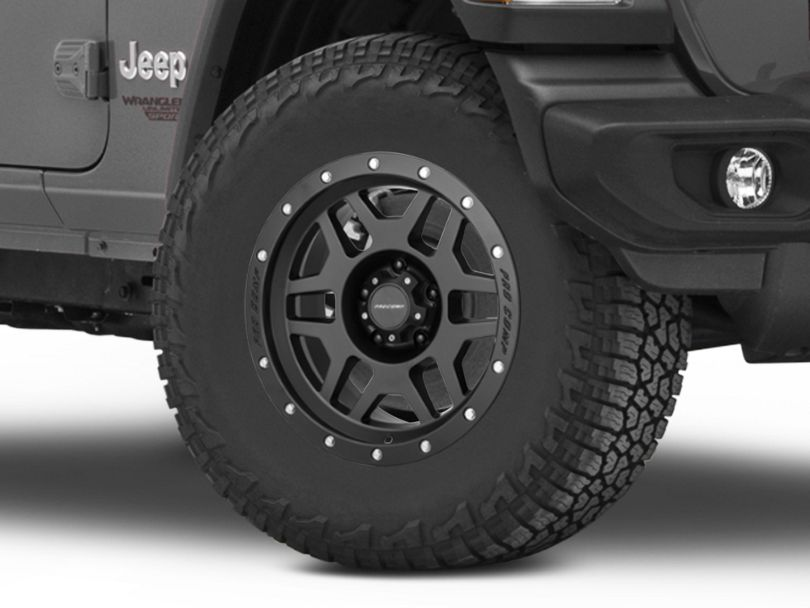 Pro Comp Wheels Phaser Satin Black Wheel - 17x9 (18-20 Jeep Wrangler JL)
