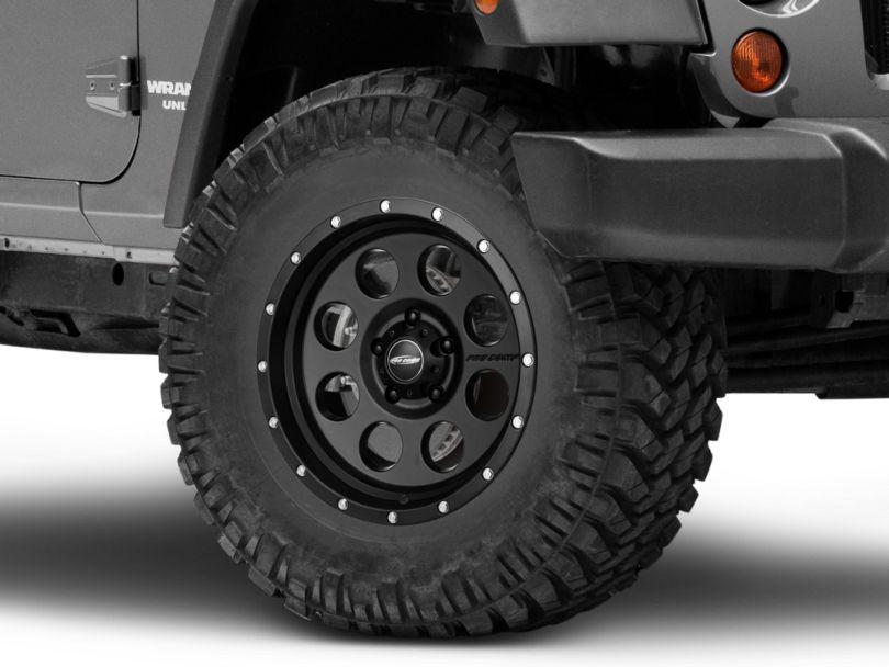 Pro Comp Wheels Proxy Satin Black Wheel; 17x9 (07-18 Jeep Wrangler JK)