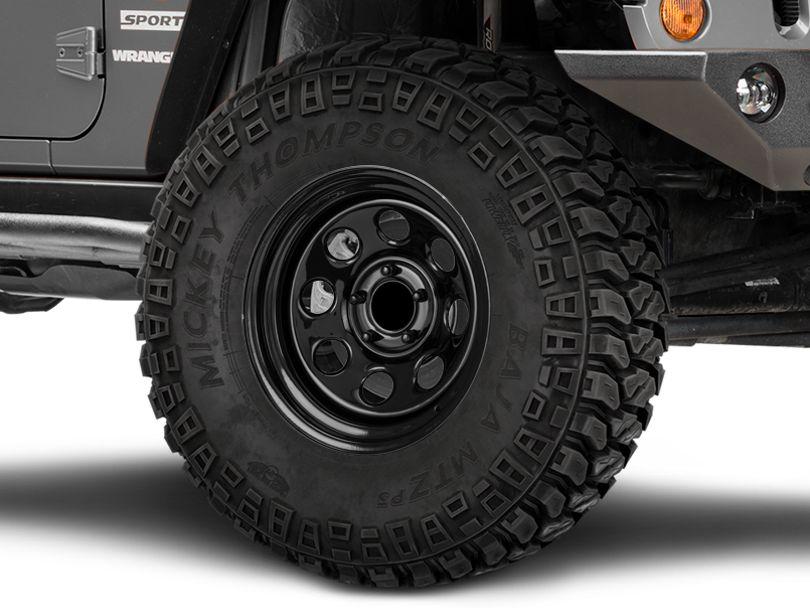 Pro Comp Wheels Series 97 Rock Crawler Gloss Black Wheel; 17x9 (07-18 Jeep Wrangler JK)