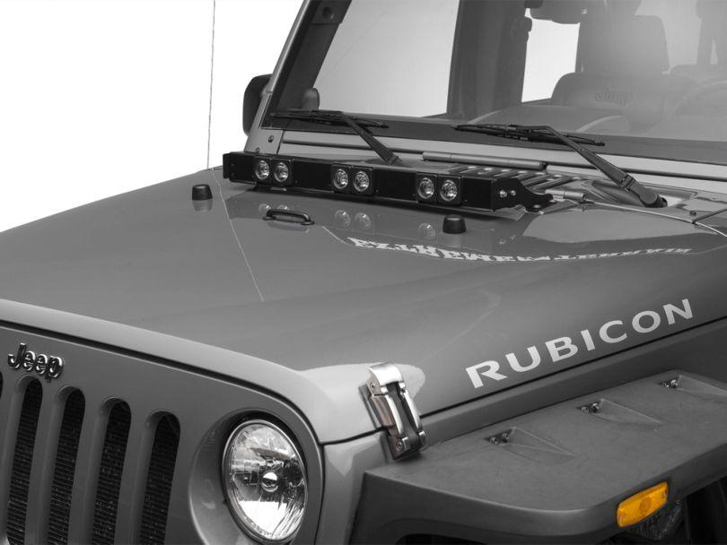 Delta SILO LED E-Hood Light Bar (07-18 Jeep Wrangler JK)