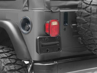 Omix-ADA License Plate Bracket (97-06 Jeep Wrangler TJ)