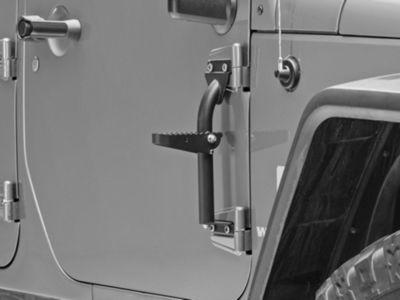 Kargo Master Hinge Steps - Pair (07-18 Jeep Wrangler JK)