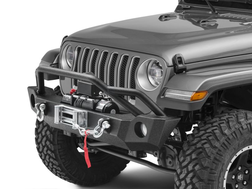 Barricade Extreme HD Front Bumper & 9,500 lb. Winch Combo (18-20 Jeep Wrangler JL)
