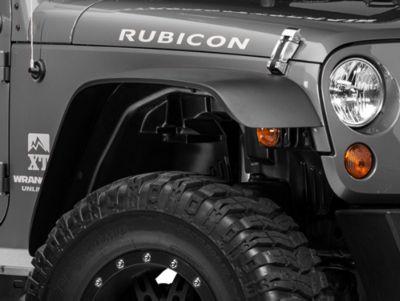 Rugged Ridge A/T Fender Liner Kit, 4 Pieces w/ Hardware (07-18 Jeep Wrangler JK)