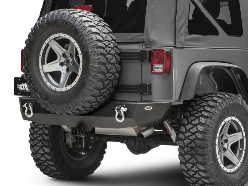 DV8 Offroad RS-4 Mid Width Rear Bumper (07-18 Jeep Wrangler JK)