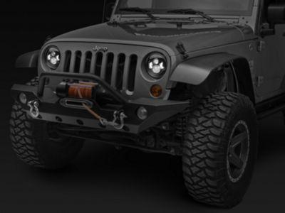 DV8 Off-Road LED Projector Headlights (07-18 Jeep Wrangler JK)