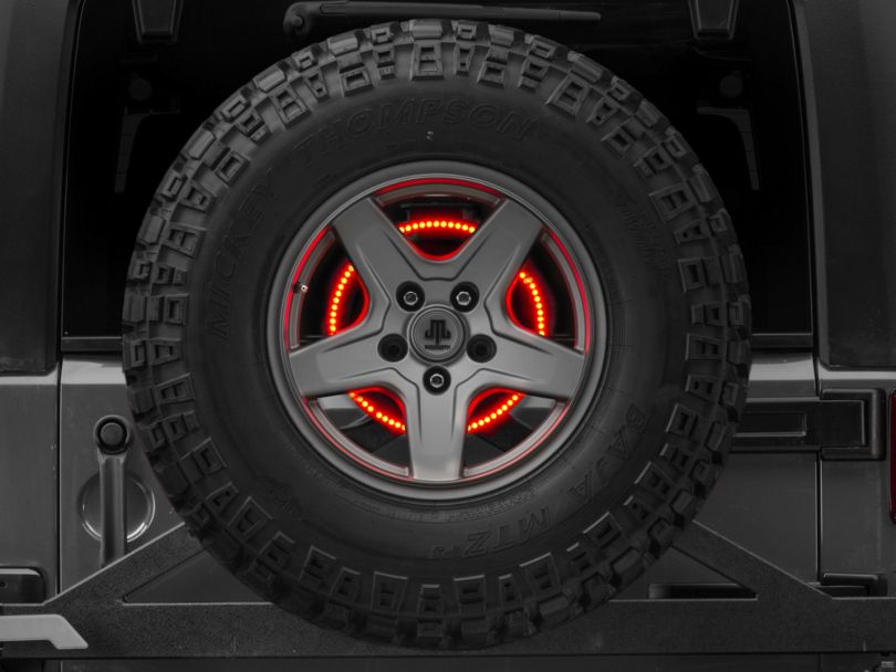 Rugged Ridge Accessory LED Brake Light Ring (87-18 Jeep Wrangler YJ, TJ & JK)