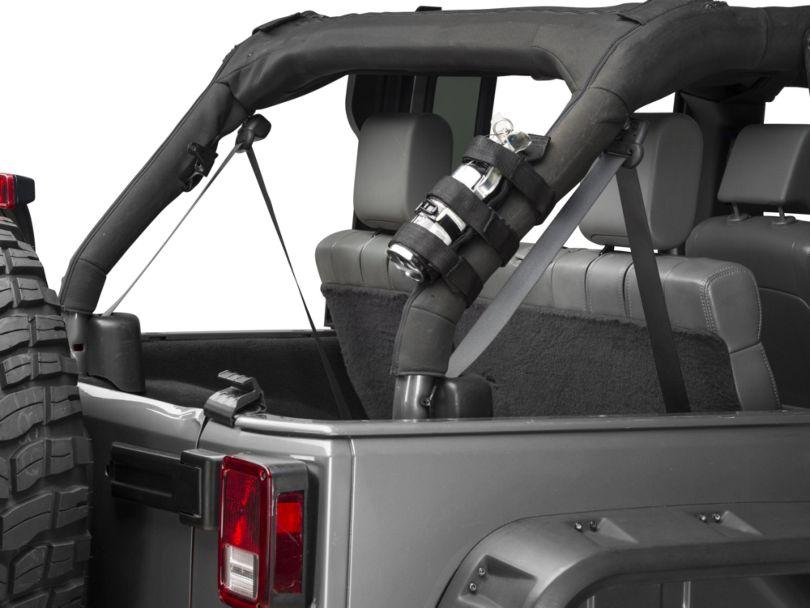 RedRock 4x4 Roll Bar Fire Extinguisher Mount (07-18 Jeep Wrangler JK)