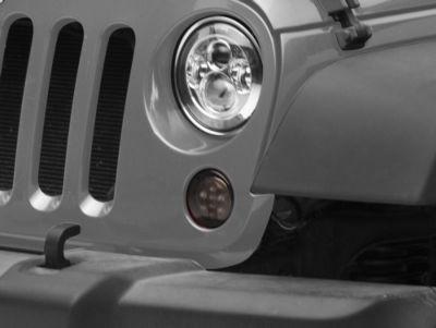 Axial Smoked LED Amber Turn Signals (07-18 Jeep Wrangler JK)