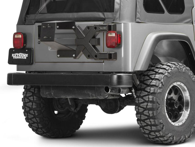Rugged Ridge Spartacus HD Tire Carrier Kit (97-06 Jeep Wrangler TJ)