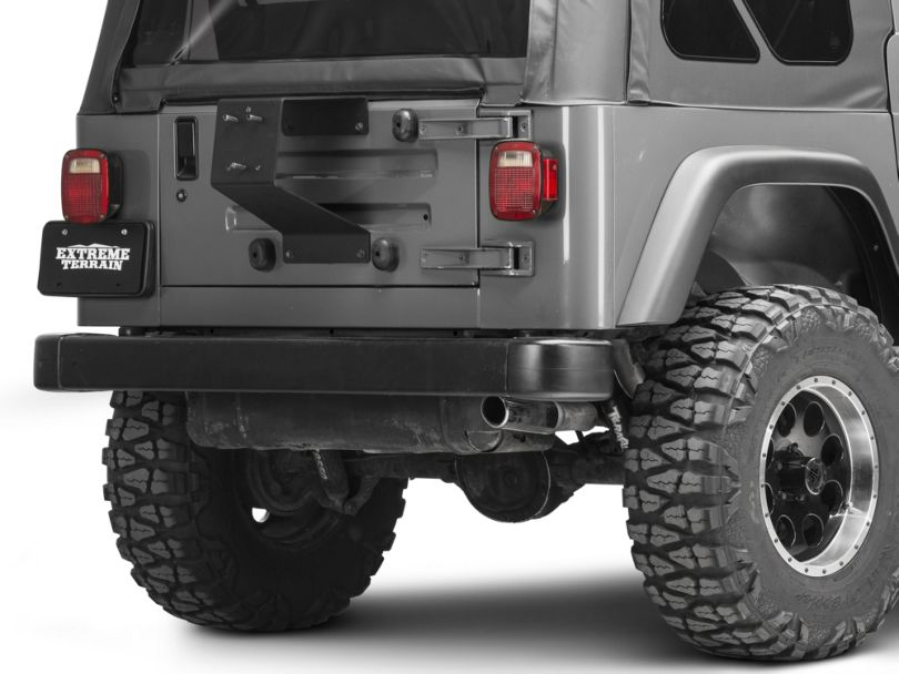 Rugged Ridge Spartacus HD Tire Carrier Wheel Mount (87-06 Jeep Wrangler YJ & TJ)