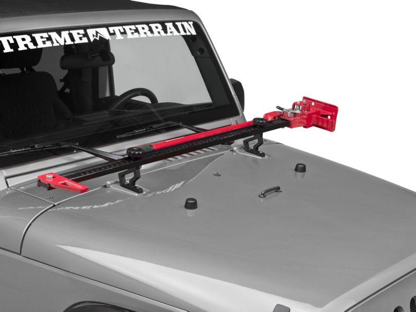 Rugged Ridge Off-Road Jack Mounting Bracket (07-18 Jeep Wrangler JK)