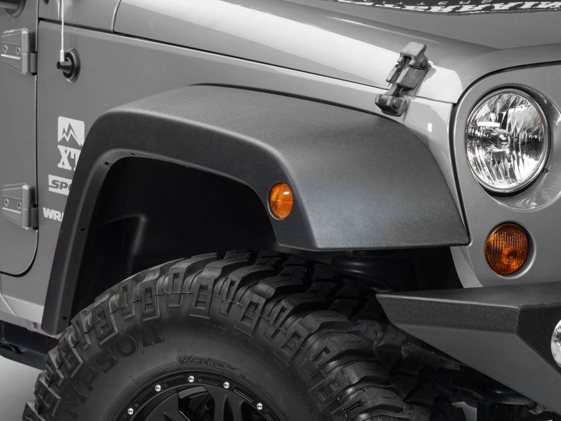 Fender Flares (07-18 Jeep Wrangler JK)