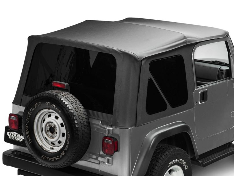 RedRock 4x4 Replacement Soft Top with Tinted Windows; Black Diamond (97-06 Jeep Wrangler TJ, Excluding Unlimited)