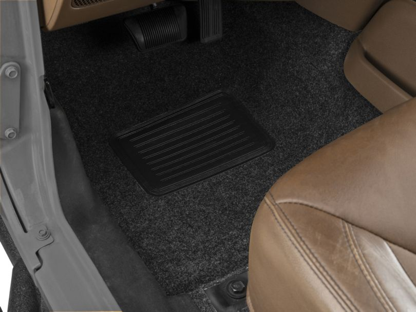 BedRug Front and Rear Floor Mats (07-18 Jeep Wrangler JK)