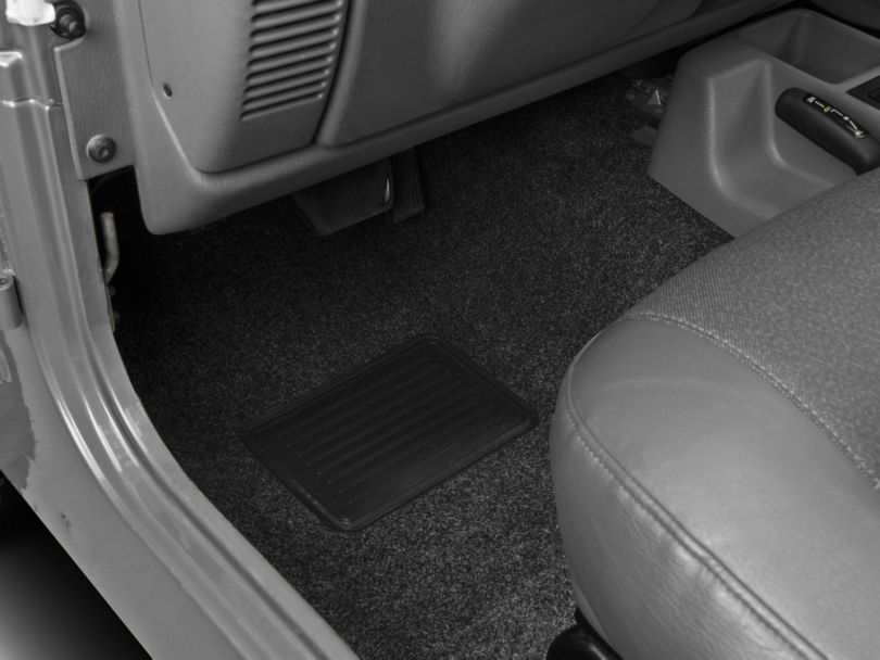 BedRug Front and Rear Floor Mats (97-06 Jeep Wrangler TJ)