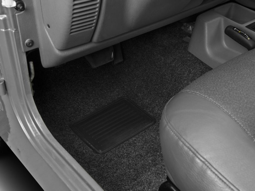 BedRug Front Floor Mats (97-06 Jeep Wrangler TJ)