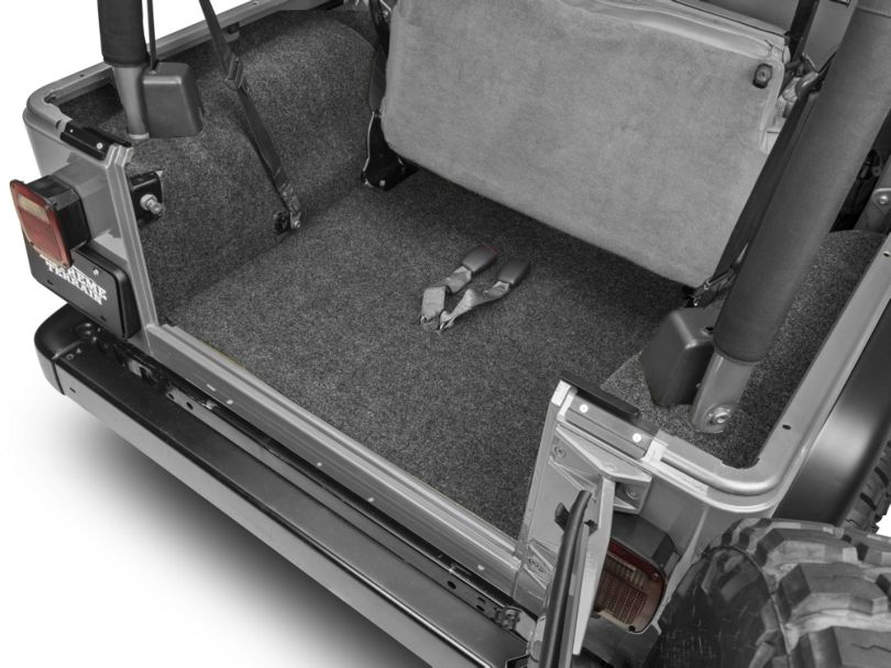 BedRug Cargo Floor Mat (97-06 Jeep Wrangler TJ, Excluding Unlimited)