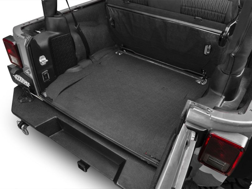 BedRug BedTred Cargo Floor Mat (07-18 Jeep Wrangler JK 2 Door)