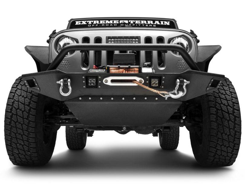 Deegan 38 HD Skid Plate for Deegan 38 Front Bumper (07-18 Jeep Wrangler JK)