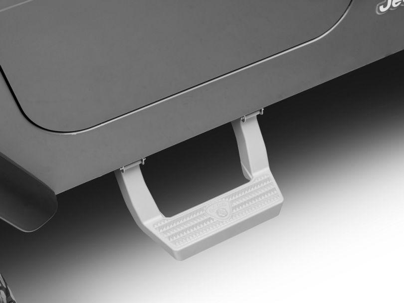 Carr LD Side Steps - Titanium Silver (97-06 Jeep Wrangler TJ)